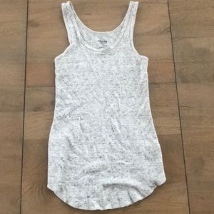 ribbed fitted tank